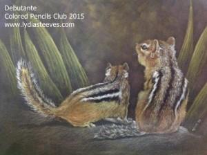Debutante Colored Pencils Club 2015