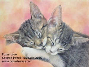 Fuzzy Love Color Pencil Play Date 2015 website