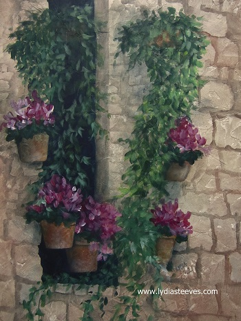 Beautiful Day in Assisi Acrylic e-Packet