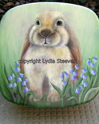 Bonnie and Her Bluebells Acrylic e-Packet