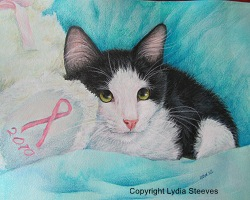 Breast Cancer Kitty CP e-Packet
