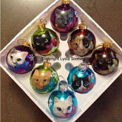 Change It Up Christmas Cats Acrylic Info Video