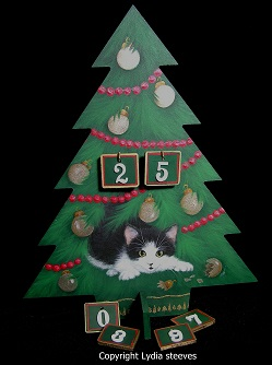 Count Down to Christmas Acrylic e-Packet