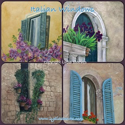 Beautiful Day Italian Window Series Acrylic e-Packet