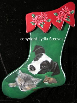 Not a Creature Was Stirring Acrylic e-Packet