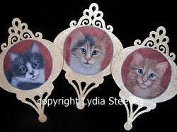 Trio of Kittens Acrylic e-Packet